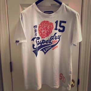 Superdry Tee fits like a (L)in good Condition